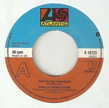 SONS OF ROBIN STONE Got To Get You Back ATLANTIC  NORTHERN SOUL UK 45