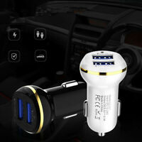 Auto Universal Car Charger Fast Charging Adapter Dual USB For IPhone Samsung