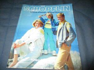 Schöpflin Katalog Versandhauskatalog Frühling Sommer 84 1984 komplett