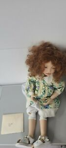 Christine Orange Doll Claudia 467/500 30 Inches With COA 1st Anniversary Special