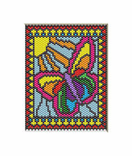 SPRING BRINGS NEW LIFE~BEADED BANNER PDF PATTERN ONLY