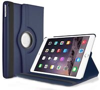 "FUNDA TABLET + CRISTAL TEMPLADO APPLE IPAD PRO 12.9"" GIRATORIA 360º AZUL OSCURO"