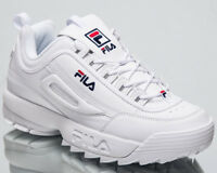 Fila Disruptor Low Top Men's New Lifestyle Shoes White 2018 Sneakers 1010262-1FG