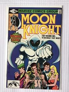 MOON KNIGHT # 1 FIRST ONGOING SERIES FIRST PRINT MARVEL COMICS