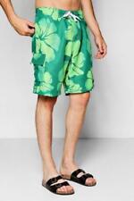 Ropa de baño de hombre verde bermudas