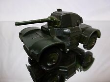DINKY TOYS 670 ARMOURED CAR - ARMY GREEN - GOOD CONDITION (2)