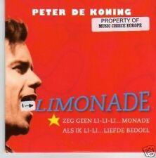 (506P) Peter De Koning, Limonade - 1996 CD