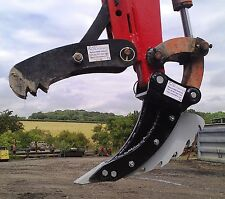 digger thumb grab, grapple 1.5 - 2t 515mm fork, suit excavator 360 with Q hitch