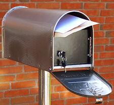US-MAILBOXSTORE Edelstahl US-Mailbox-Combo, verschließbar