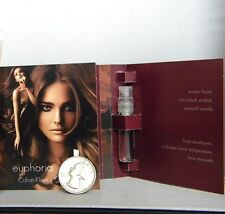 EUPHORIA Calvin Klein Sample Spray Vials Women 3 pc Lot