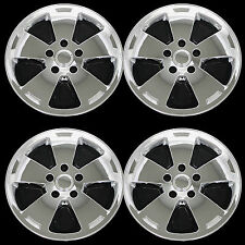 "Set of 4 Chrome 2006-2012 Chevrolet Impala 16"" Wheel Skins Hub Caps Rim Covers"