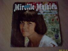 Vinyle 45 tours : Mireille Mathieu : Emmène- moi demain avec toi