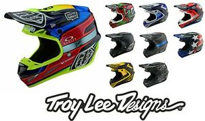 Troy Lee Designs SE4 CARBON 2021 Tld Mips 1100g Licht Motocross MX Helme