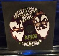 Insane Clown Posse - Who U Know? Hallowicked 2016 CD twiztid esham icp single