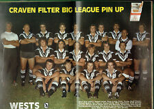 #HH1.  RUGBY BIG LEAGUE MAGAZINE 7-13 MAY 1977, WESTERN SUBURBS PINUP