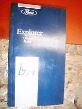 1994 FORD EXPLORER ORIGINAL OPERATORS OWNERS MANUAL GUIDE