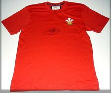 DAN BIGGAR WALES PERSONALLY HAND SIGNED AUTOGRAPH RUGBY SHIRT