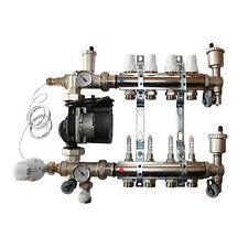 Festwertregelset für Fußbodenheizung mit Pumpe Grundfos UPM 3 Hybrid 25-70