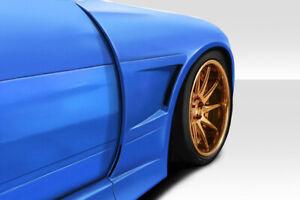 89-94 Fits Nissan 240SX V Speed Duraflex Body Kit- Wide Front Fenders!!! 114924