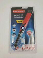 Brand New Rubbermaid Reveal Power Scrubber Kitchen Sink Bathroom Drain Electric