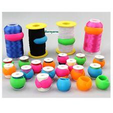 PARAFANGHI FILO BOBINA Wrappers-Pack 12 colori diversi avvolgere intorno Thread Storage