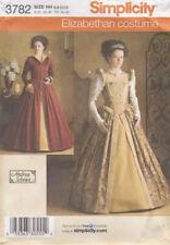 Simplicity Misses' Historic Elizabethan Costume Pattern 3782 Size HH 6-12 Uncut