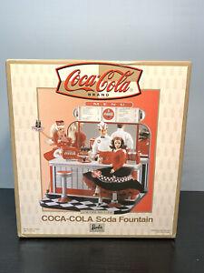 Limited Edition Coca-Cola Soda Fountain BARBIE
