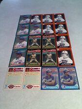 Pete Incaviglia:  Lot of 160+ cards.....87 DIFFERENT / Baseball