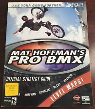 Playstation Max Hoffman's Pro BMX Strategy Players Guide Brand New! Never Used!