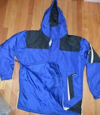 Columbia Sports Wear Company Royal & Dark Blue Outdoor Winter Pullover Jacket #2