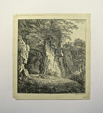 Eau-Forte, Bergers et moutons, Gessner, fin XVIIIème