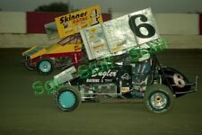 1993 Sprint Car racing photo negatives (8) Kauffman, Rahmer, Mackison +