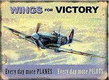 Wings For Victory (Spitfire) fridge magnet   (og)