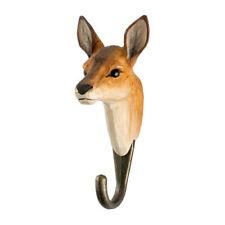 Wildlife Garden  Hook   Hand Carved  Roe Deer