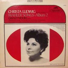 Christa Ludwig (vinilo Lp) Mahler canciones-Album 2-Serafín-S-60070-US-Ex/Ex