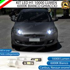 KIT LED H1 ABBAGLIANTE FIAT BRAVO MK2 10000 LUMEN 6000K CANBUS ALL IN ONE