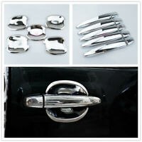 15x Chrome Door Handle Bowl Cover for Toyota Land Cruiser Prado FJ120 2003-2009