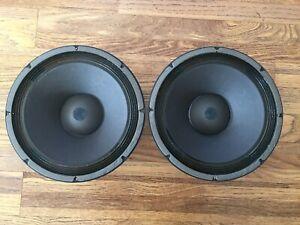 2) Vintage Altec Lansing Model 414-16B, 12 inch Loudspeakers