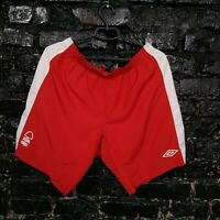 Nottingham Forest Home football Shorts 2010 - 2011 Red Umbro Mens Size XL