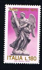 ITALIA 1 FRANCOBOLLO ANNO SANTO 180 LIRE 1975 nuovo** (BI6812)