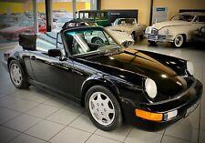 *PRACHTVOLLE ATTRAKTION* Porsche 911 Cabriolet 964 aus 1991 im Oldtimer Museum