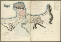 "16"" x 24"" 1813 Map of Plan of the siege of St. Sebastian"