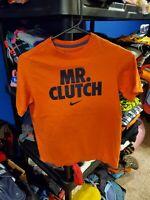 Boy's Nike Orange Short Sleeve T Shirt Size Medium