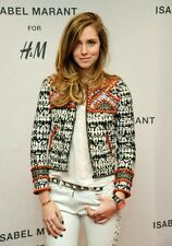 ISABEL MARANT pour H&M Embellished Embroidered Beaded Jacket Size 2 / 32 / XS