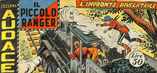 [515] IL PICCOLO RANGER ed. Araldo 1959 II s. n.  10 stato Ottimo