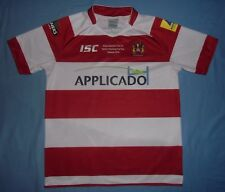 Wigan Warriors / 2013 Tetley's Cup Final - ISC - MENS rugby Shirt / Jersey. L