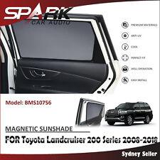 MAGNETIC CAR WINDOW SUN SHADE BLIND MESH REAR DOOR FOR TOYOTA Landcruiser 2008+C