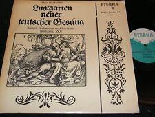 HASSLER Lustgarten... Capella Lipsiensis & D. Knothe / DDR LP 1964 ETERNA 820399