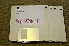 Stylewriter II printer software discs