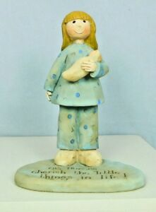 O.B. Nurse standing on a base holding a baby - New by Blossom Bucket #82366A